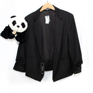 New black Express blazer jacket